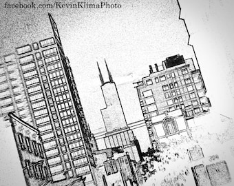 sears tower coloring pages - photo#32