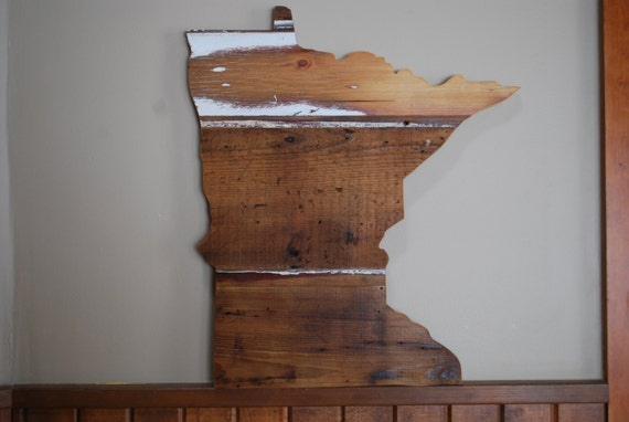 home decor stores in minneapolis minnesota state barnwood sign home decor wedding prop 12534
