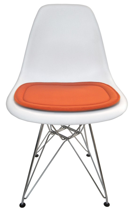 cushion for eames molded plastic side chair many colors available