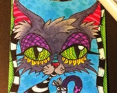 Kitty Cat Original Art ACEO