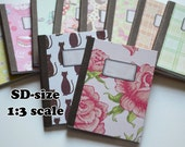 Notebooks for dolls (1:3) SD-sized (10 Patterns)