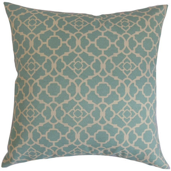 Waverly Decorative Throw Pillows : Sale Throw pillows blue Waverly designer pillow decorative