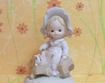 Delightful 1984 Lefton Heavenly Hobo Figurine