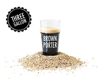 Brown Porter - 3 Gallon Beer Making Recipe Refill Kit - Brew in a Bag