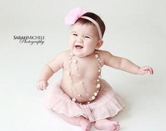 baby girl headbands..baby pink headband..girls pink headband..newborn headband..pink baby headband..pink headband