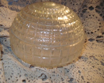 Rounded Crystal Looking Lamp Shade :)/Not Included in Clearance Coupon Sale