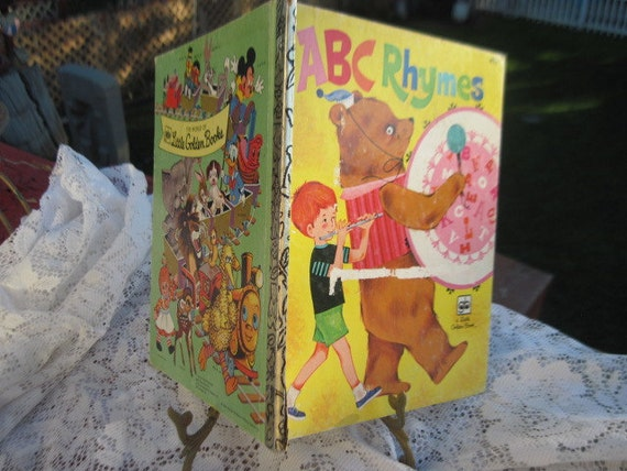 abc rhymes little golden book