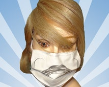 Funny surgical mask, Handlebar mustache, mustache, cotton face mask, mouth mask, mouth protection