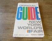Official Guide New York World's Fair 1964/1965 - Vintage