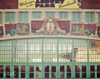 Asbury Park Doors - Asbury Park NJ - Asbury Green Doors - architecture photo - Iconic NJ - Jersey Shore - Convention Hall