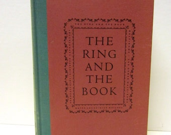 Robert Browning ~ The RING and THE BOOK