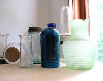 Antique Industrial Glassware, Vintage Bottles, Medical Glassware, Vintage Laboratory, Kitchen Storage, Vintage Chemistry, Industrial Wedding