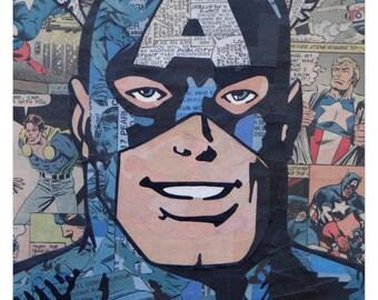 Captain America Print 11x17