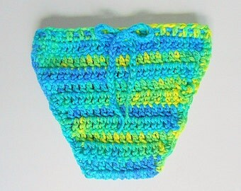 Blue Green Yellow Baby Diaper Cover Girl Nappy  Soaker Infant Boy Cozy With Matching Tie Newborn 1 2 3  Months  Children Crochet Clothing