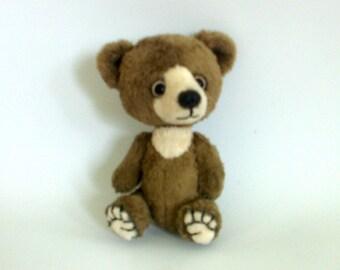 Teddy Bear Cappuccino. Miniature teddy bear. OOAK. Handmade bear. Artist teddy Bear