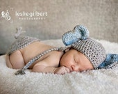 Crochet Elephant Hat and Tail