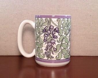Wisteria Design Mug