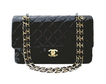 Chanel Bag (this is artwork, not a real bag)