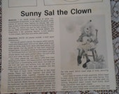 Better Homes and Gardens Custom Design Collection Sunny Sal the ClownPattern No 01223 with Complete Pattern and Instructions