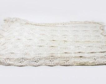 Crochet Bedspread in Full Size Antique Bedspread, Twin