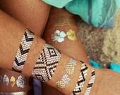 Metallic Tattoos - As Seen on Beyonce & Good Morning America - Waterproof  Temporary Tattoos