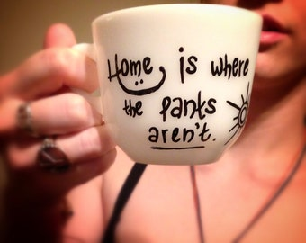 Home is Where the Pants Aren't Mug