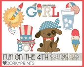 Fun on the 4th of July SVG Cutting Files -For Use with Cutting Machines - svg, mtc, pdf, gsd, and wpc files
