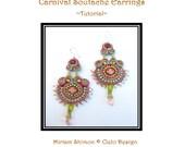 Carnival Soutache Earring - tutorial