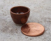 Little Miniature Brown Tumbler or Cup