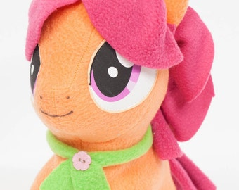Chibi Apple Rose MLP Hand-Made Custom Craft Plush