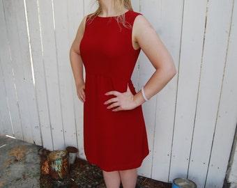 Ms. Scarlets Little Red Shift Dress