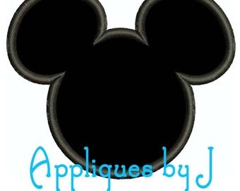 MICKEY APPLIQUE 4x4