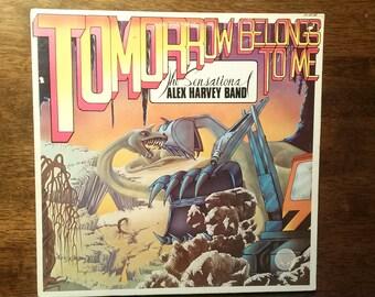 Vintage 1975 Tomorrow Belongs to Me Vinyl Record Album The Sensational Alex Harvey Band Rock Art