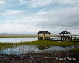 Tranquility, Pawley's Island in the morning, Fine Art Photography