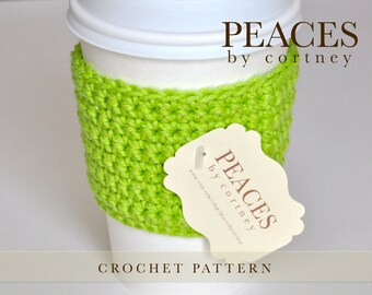 Crochet Pattern: Cup Sleeve or Cup Cozy