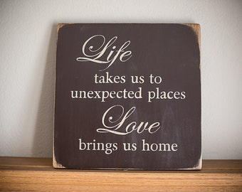 Wooden Sign- Home Decor
