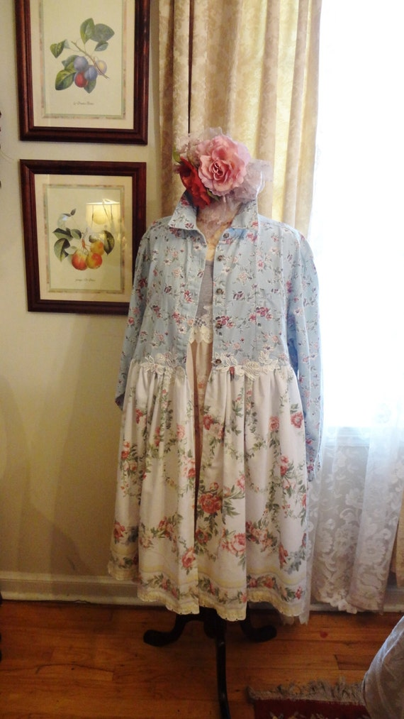 sale clothing shabby chic duster by