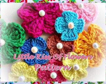 Little Kiss of Flowers Crochet Pattern