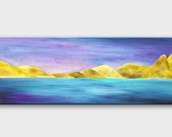 Abstract Nature painting Abstract Mountain painting Mountain acrylic Gemälde natur Wall art Abstract Nature art Wall decor Landscape art
