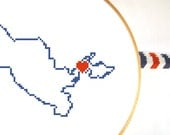 UZBEKISTAN map modern cross stitch pattern. Uzbekistan art. Home is wherever I'm with you. Gift wedding. Tasjkent map