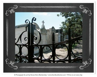 Lafayette Cemetery Gate Cards