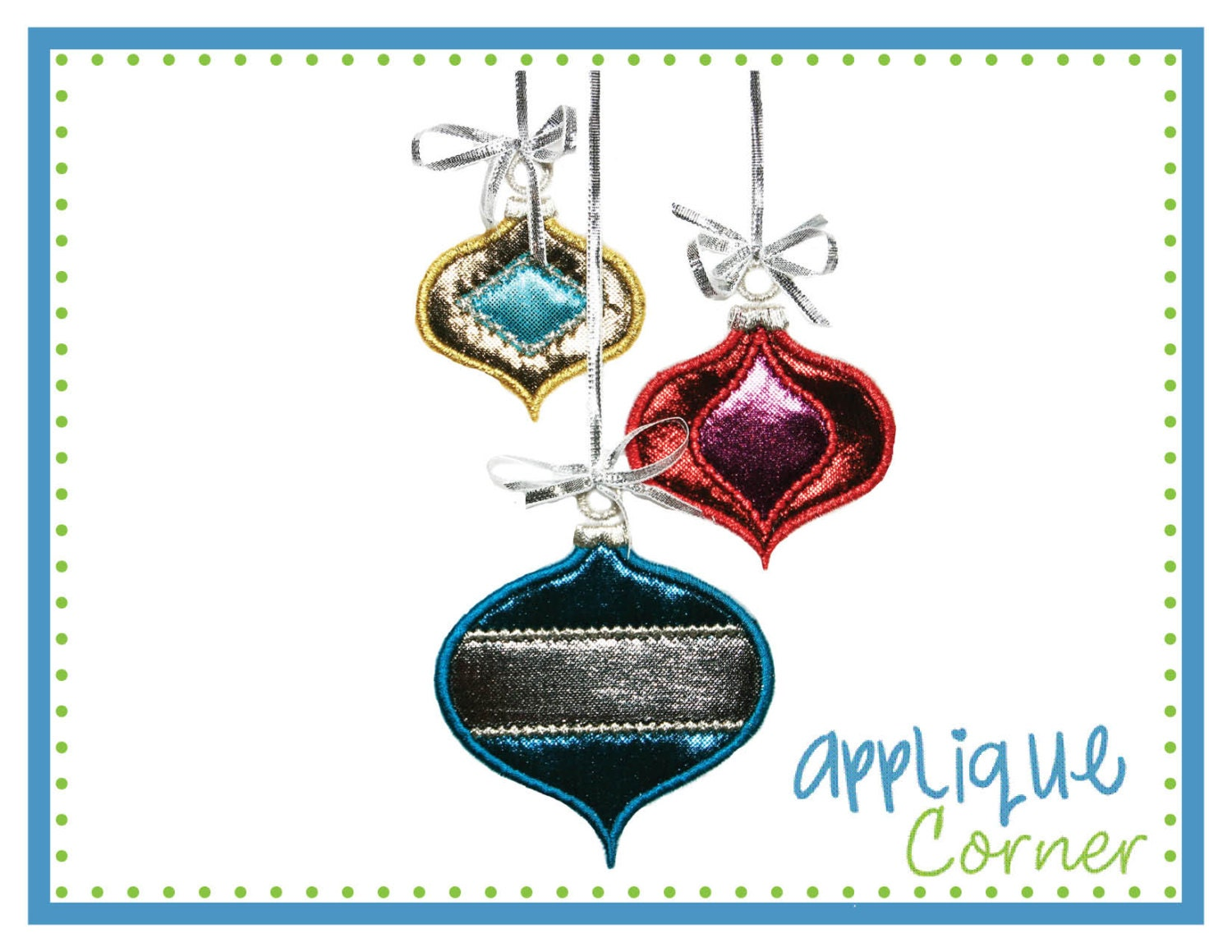 Instant download christmas balls vertical centers ornaments