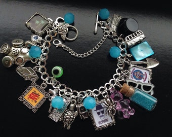 Breaking Bad inspired charm bracelet Heisenberg