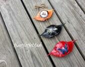 THE ORIGINAL Triple Crab Shell Ornament Baltimore Ravens Inspired Caps Orioles Inspired Wedding Shower Groomsmen Bridesmaid