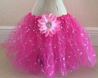 Pink Fairy Tutu, Princess Tutu, Fairy Costume, Fairy Party Favors, Pink Tutu, Tinkerbell Tutu, Tinkerbell Costume, Fairy Birthday,  Princess