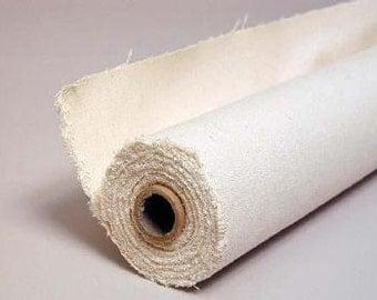Certified Organic Raw Cotton Canvas