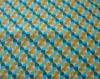 Notting Hill Hourglass Fabric in Aquamarine by Joel Dewberry for Free Spirit 1 yard