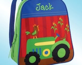 Backpack - Personalized and Embroidered - Go Go Bag - FARM