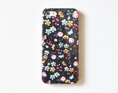 Black Floral Pattern IPhone 5/5S Case Sale, FREE SHIPPING,Flower Phone Case, Chic Phone Case, Cute Phone Case, Sale Phone Case