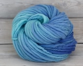 Titan - Hand Dyed Thick & Thin Merino Wool Bulky Chunky Yarn - Colorway: Boca Chica